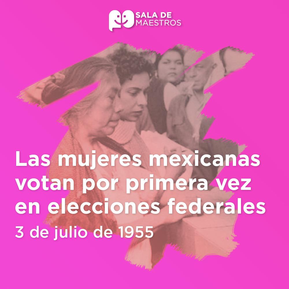 Mujeres con derecho al voto