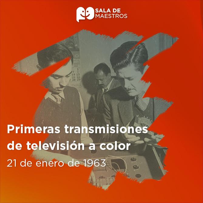 Fue el mexicano González Camarena quien inventó la televisión a color