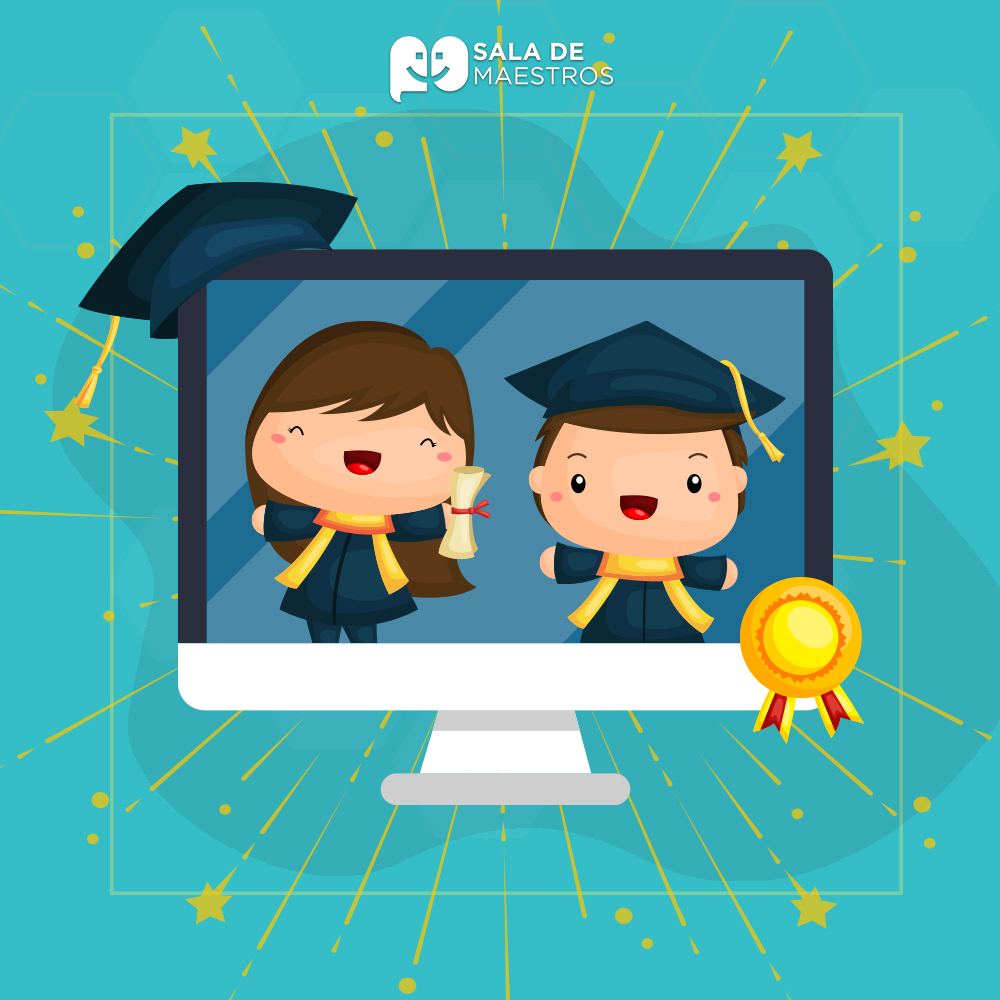 Cinco formas de celebrar el fin de cursos virtual