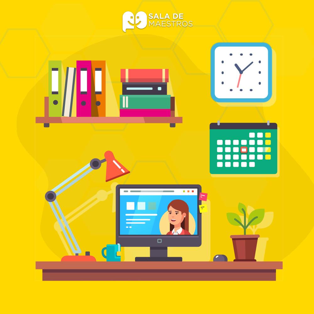 Cinco cosas que encuentras en el escritorio de un docente