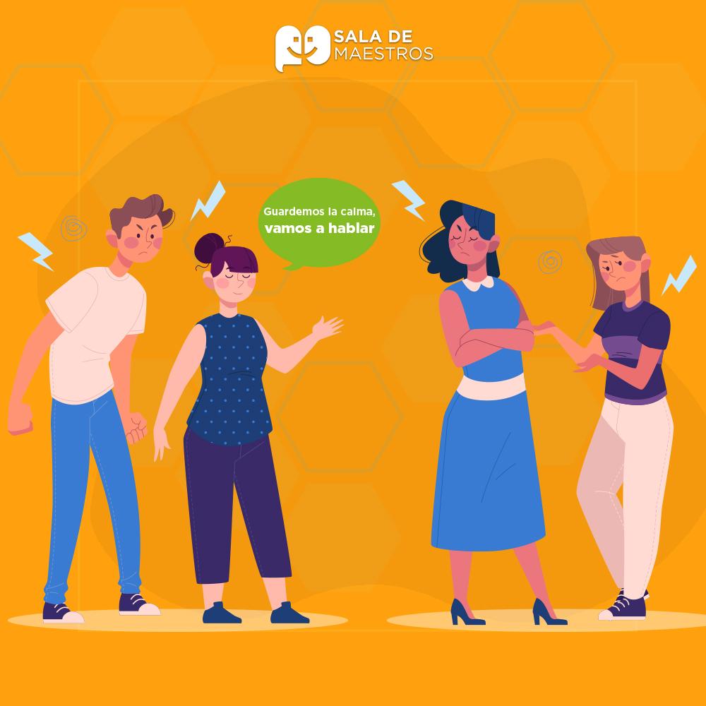 Resolver conflictos entre colegas, tips para directores
