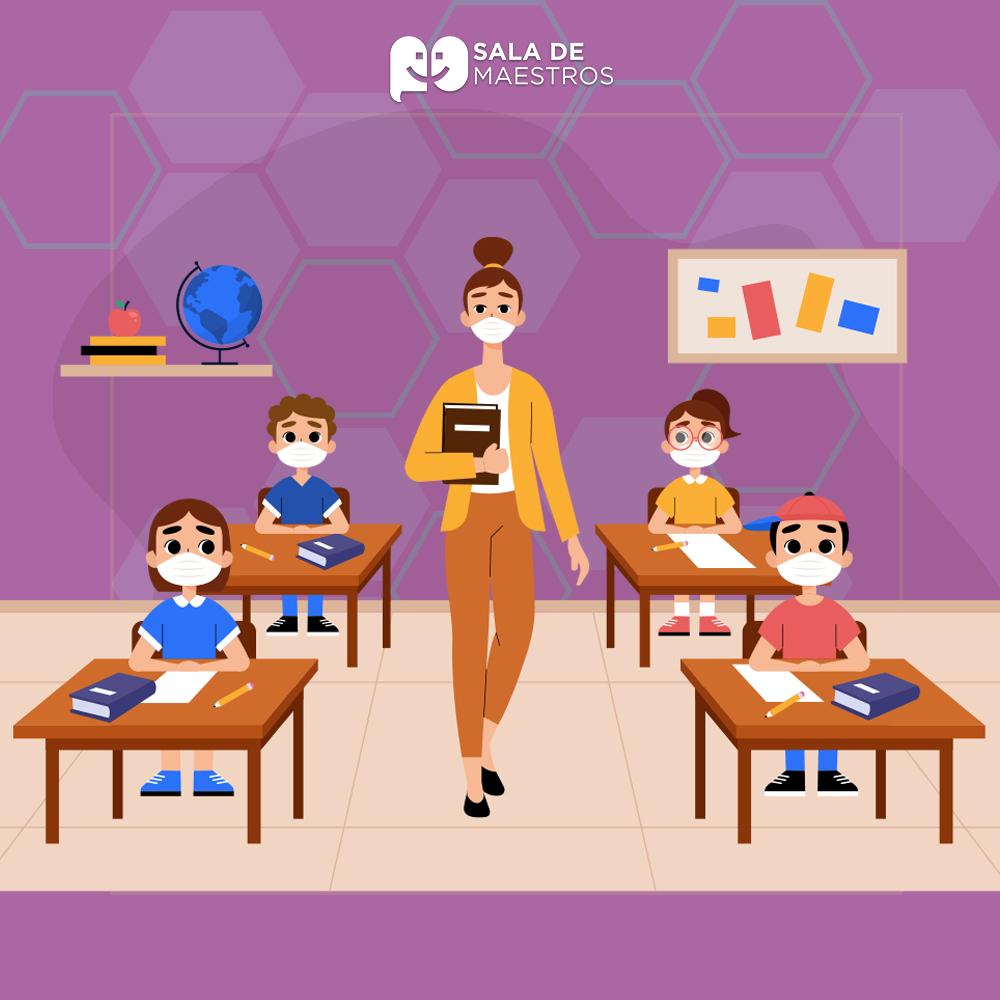 Volver a clases: enseñar con cubrebocas