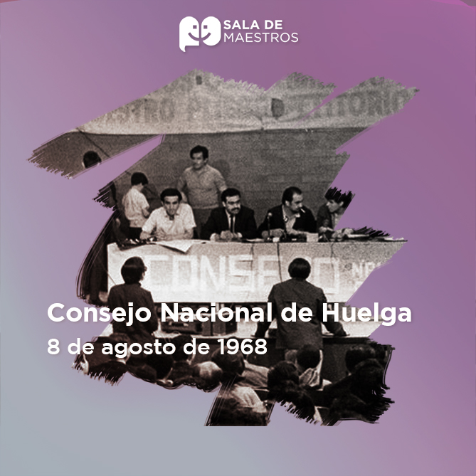 Ante la persecución política en contra de líderes sindicales se conforma el CNH como parte del Movimiento Estudiantil