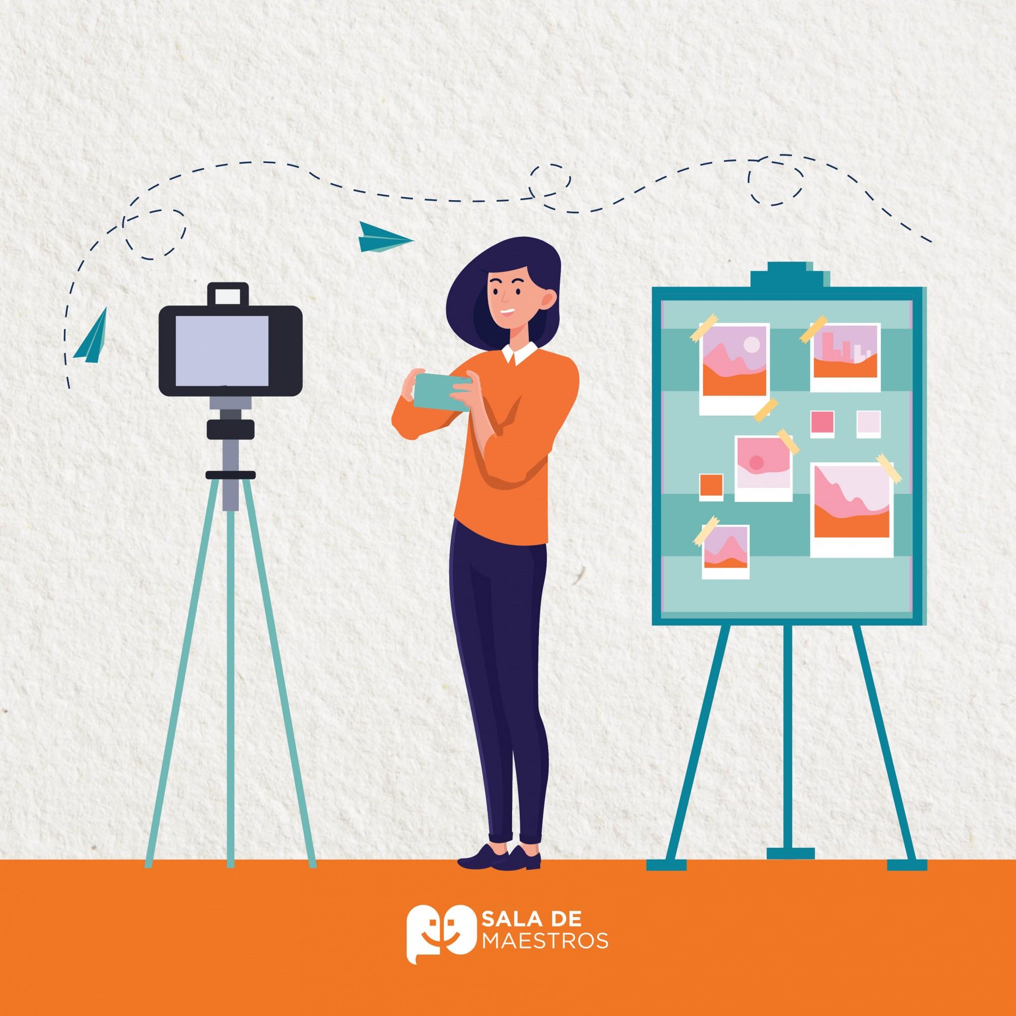 Crear videos: una forma de seguir en contacto con mis alumnos