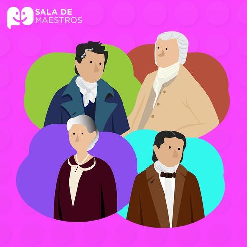 Cuatro pedagogos del mundo