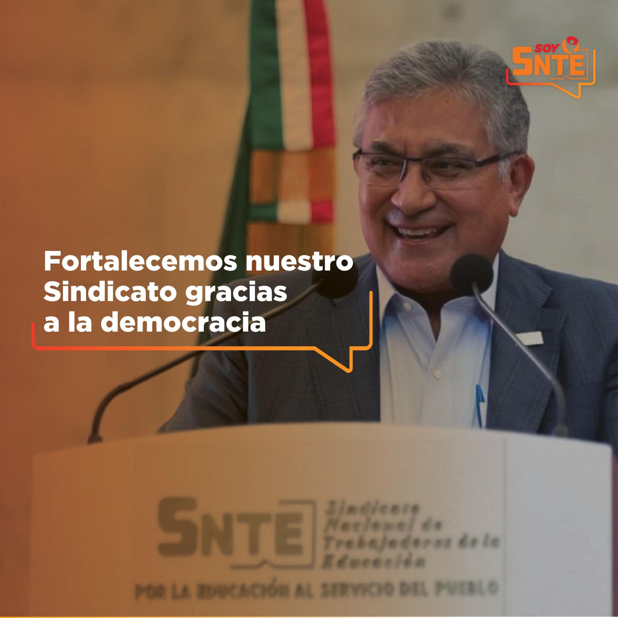 Continúa la democratización del SNTE