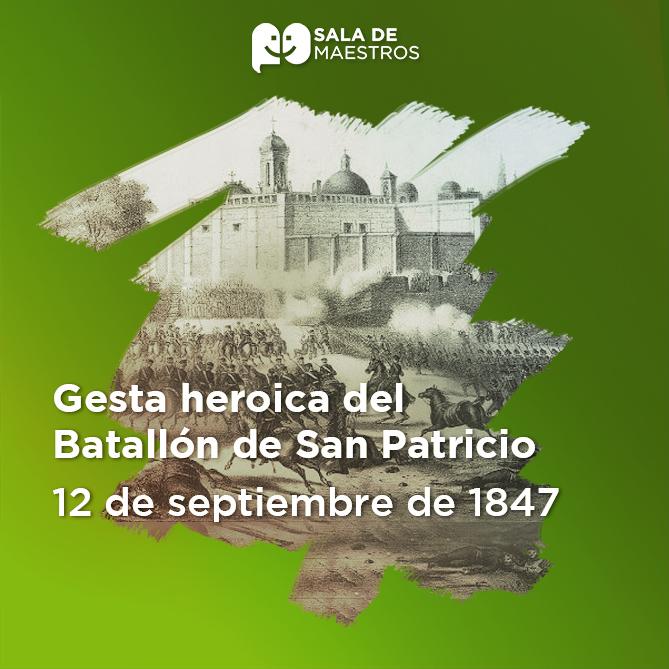 Se conformó por soldados irlandeses que se unieron a México contra la intervención norteamericana