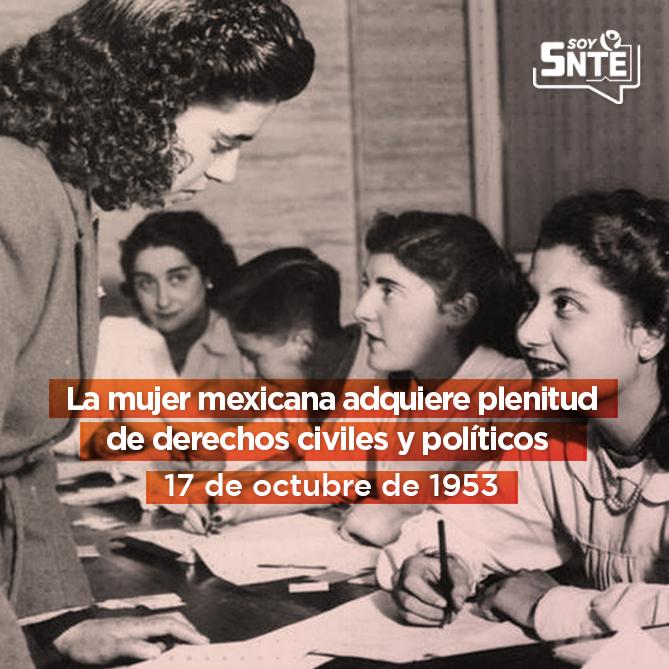 México adoptó los postulados de la Convención de los Derechos Políticos de la Mujeres