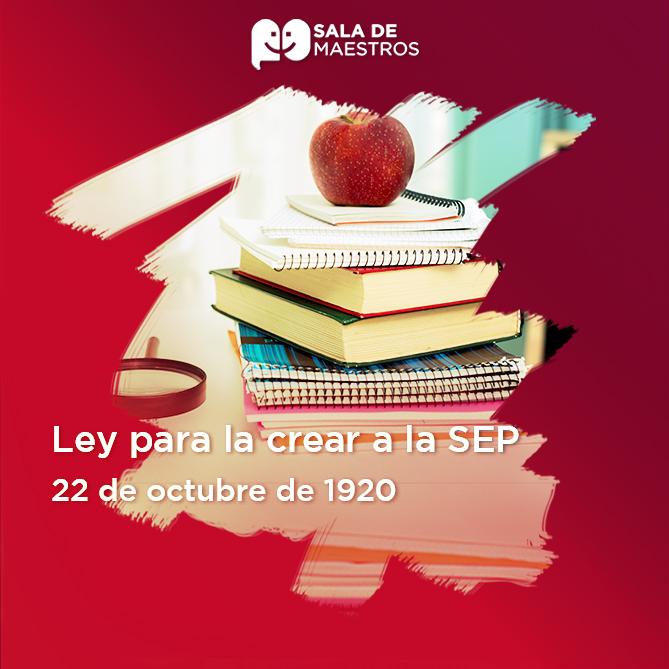 Hace 100 años Vasconcelos presentó su proyecto de Ley para la creación de la SEP