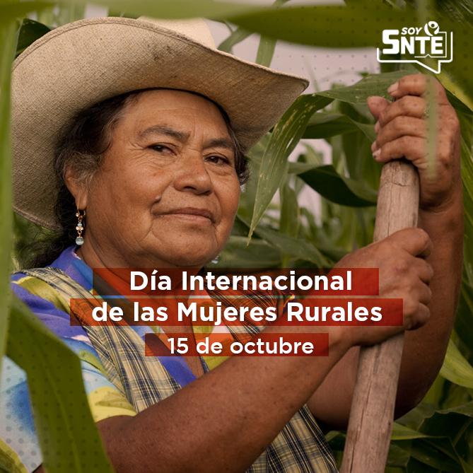 """Lema 2021: """"Las mujeres rurales cultivan alimentos de calidad para todas las personas"""""""