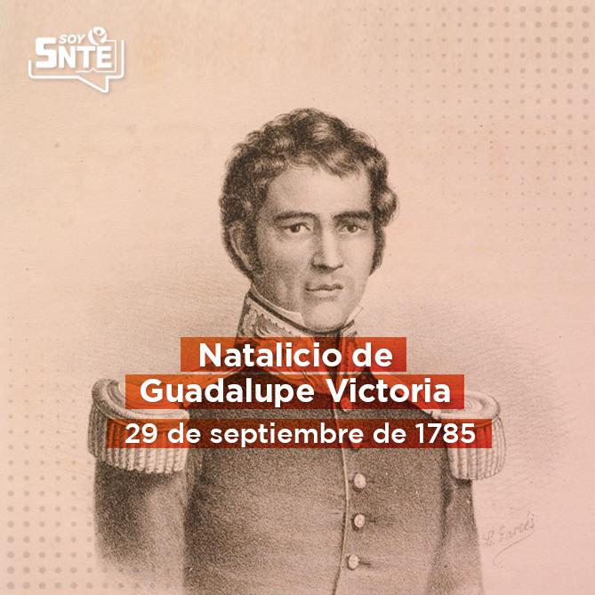 """""""La independencia se afianzará con mi sangre y la libertad se perderá con mi vida"""" Guadalupe Victoria"""