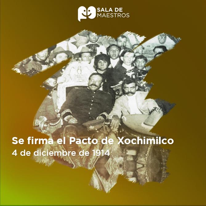 Se reunieron por primera vez en Xochimilco