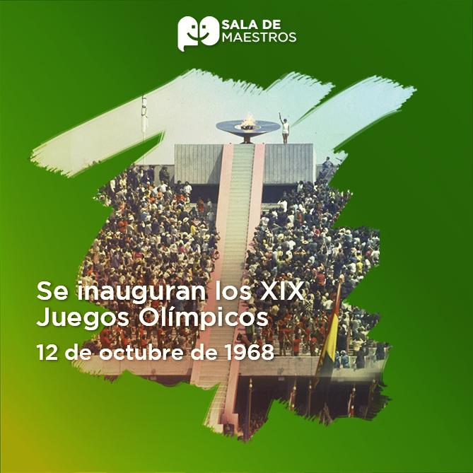 A tan solo 10 días de la masacre de Tlatelolco se inauguraron los XIX Juegos Olímpicos  Facebook Pixel