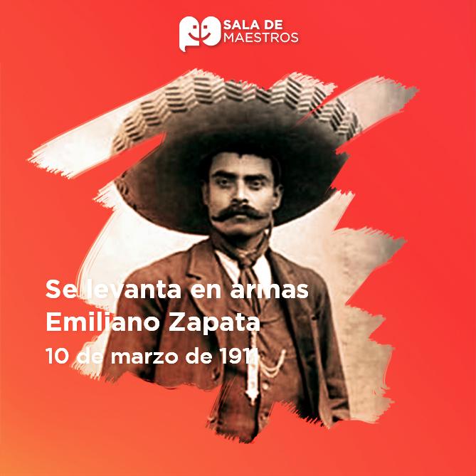 Se une al movimiento revolucionario de Francisco I. Madero