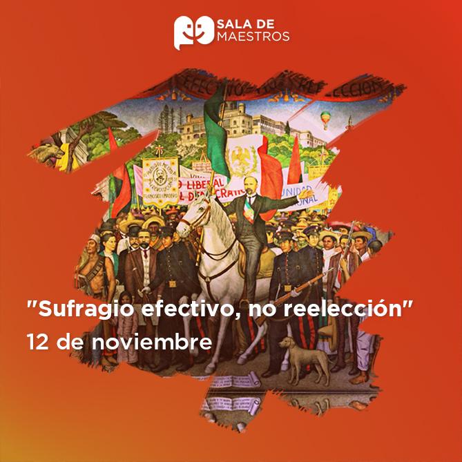 Porfirio Díaz el primero en utilizar esta frase en 1871 en contra de Benito Juárez