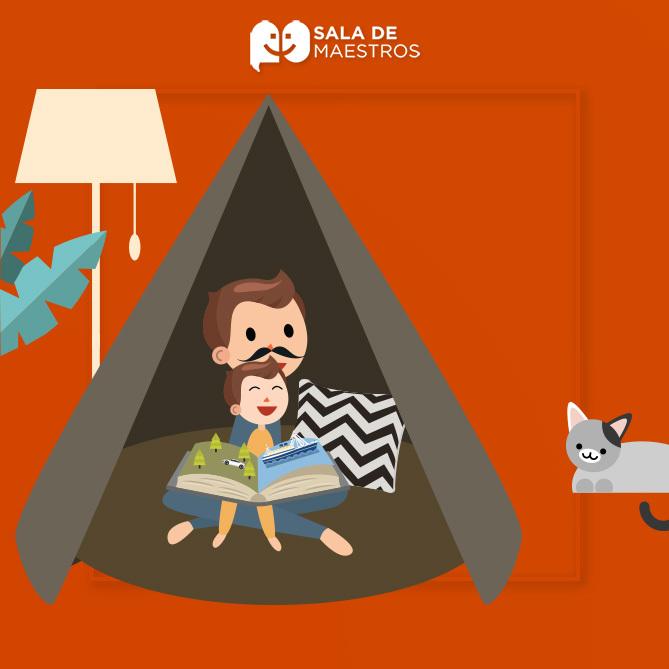 Acampar en casa y otras actividades que podemos hacer en casa