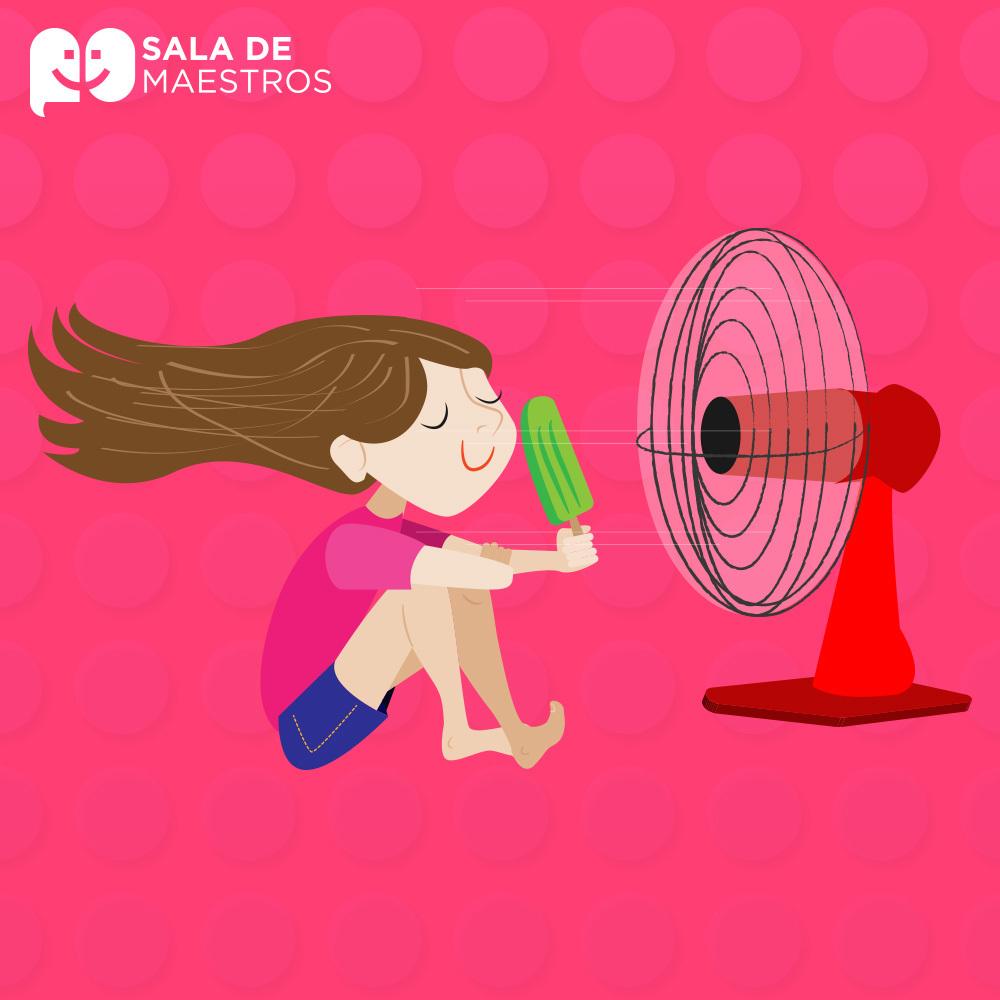 Cómo sobrevivir al calor en clase