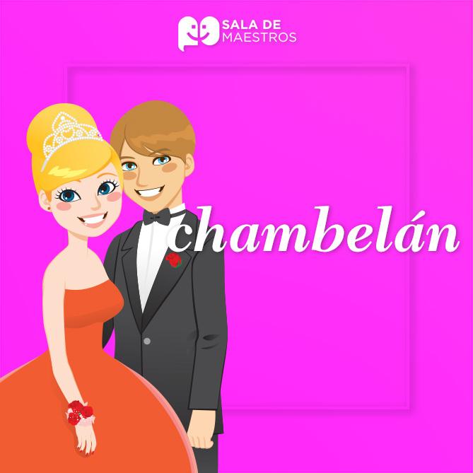 """¿Cuál es el origen del término """"chambelán""""?"""