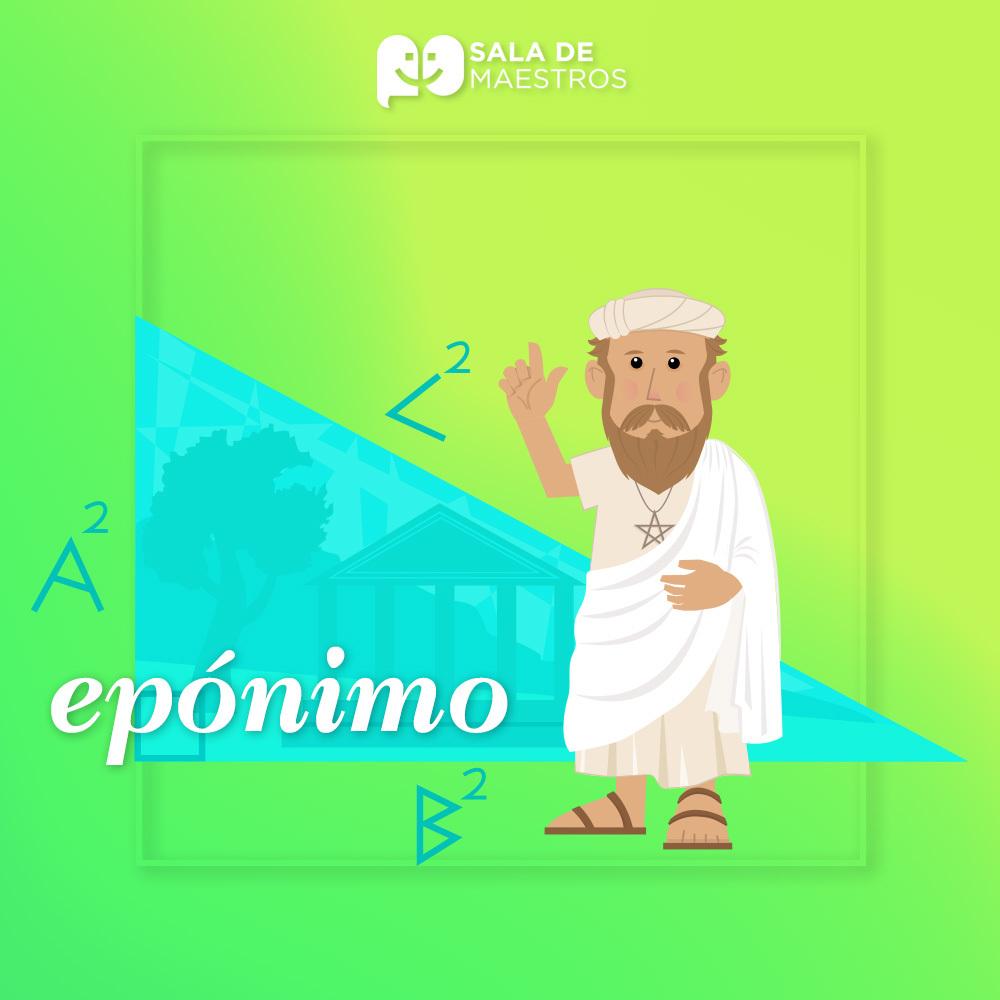 ¿Qué son los epónimos?