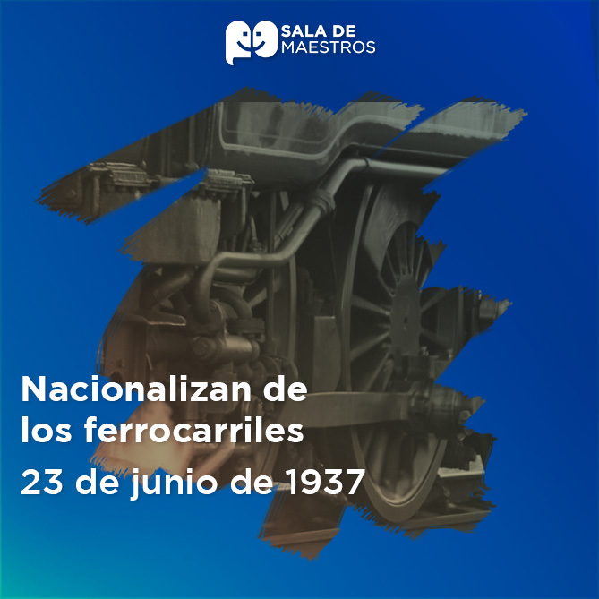 Se crea el Departamento de Ferrocarriles Nacionales de México