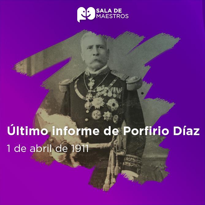 Díaz pensó que pronto terminaría el Movimiento Maderista