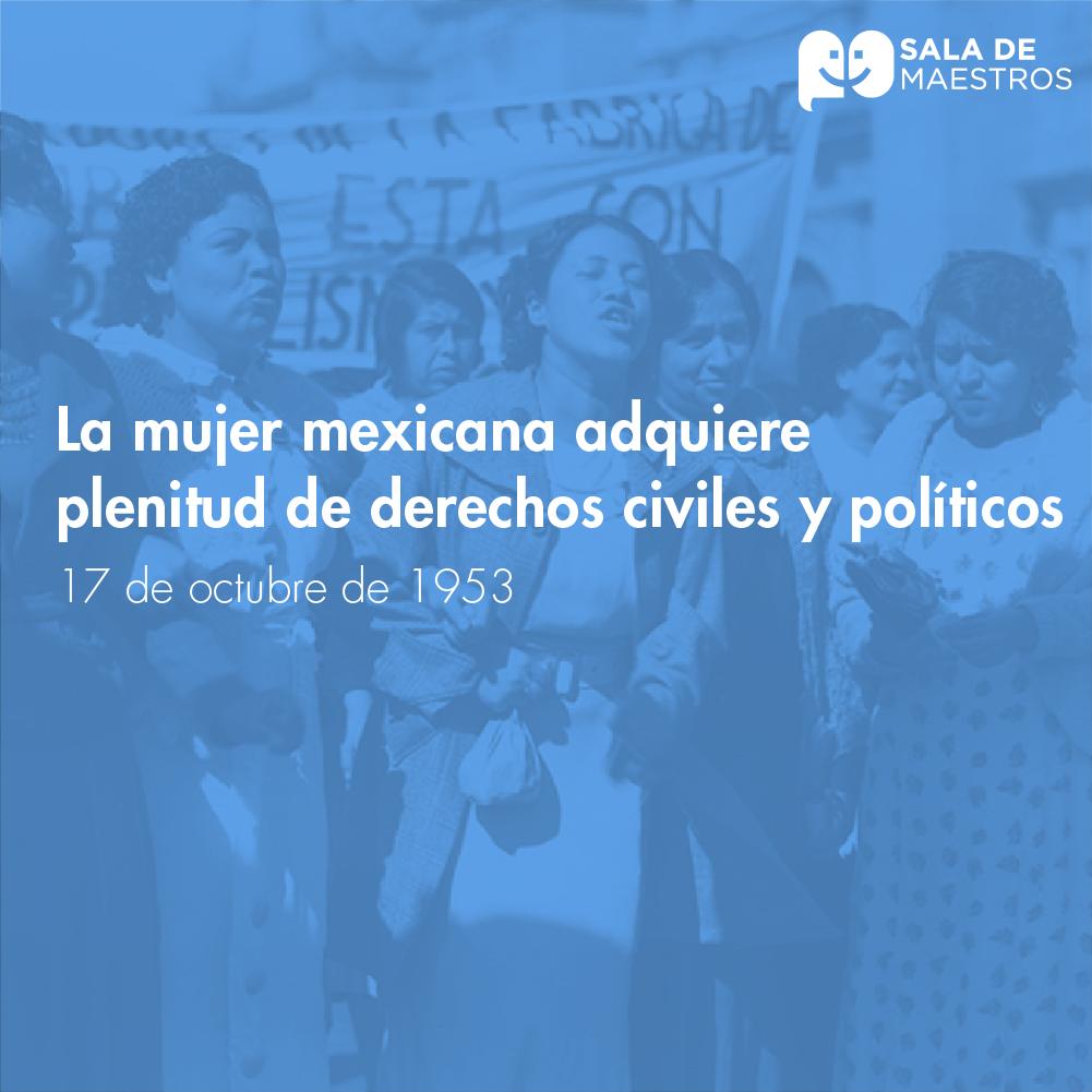 Hace 65 años se reconocieron los derechos de  la mujer