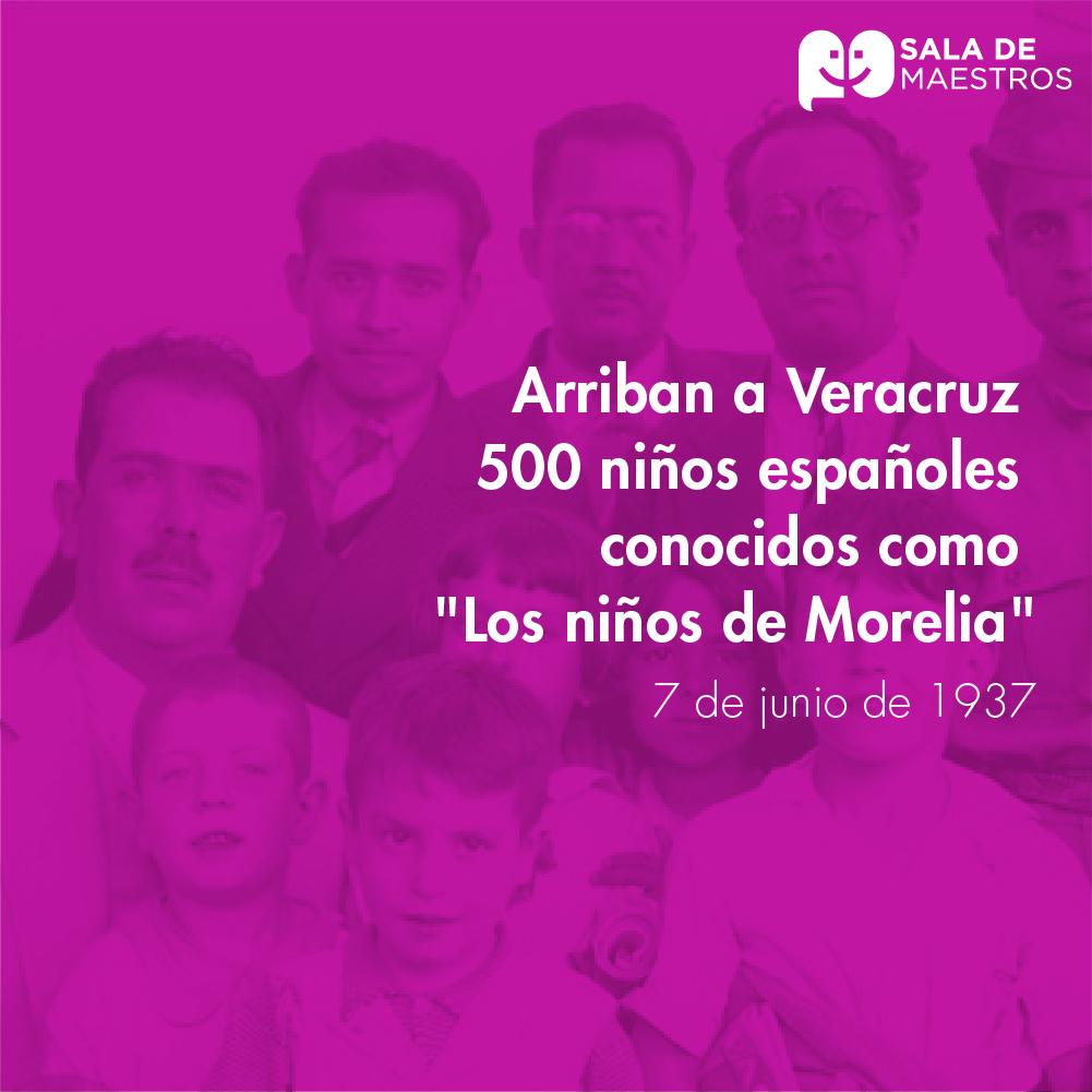 Inicia el exilio de españoles republicanos a México