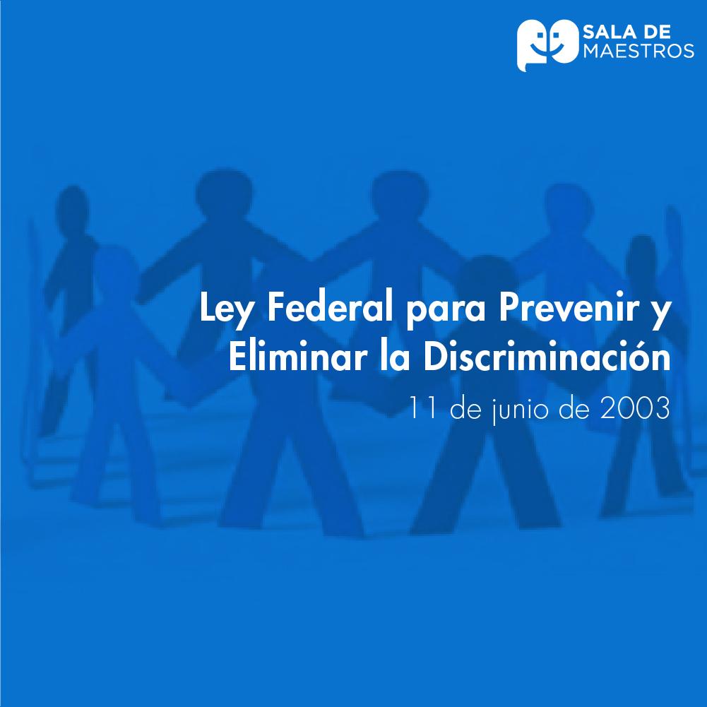¡Repudiemos cualquier acto de discriminación!