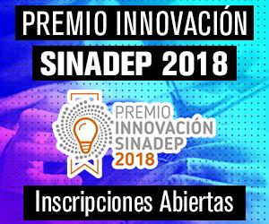 Premio a la innovación SINADEP 2018